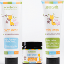 Bộ Combo 3 sản phẩm chăm sóc baby Scentuals