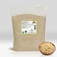 Hạt Quinoa Trắng hữu cơ Smile Nuts túi 5kg - nhập khẩu từ Peru