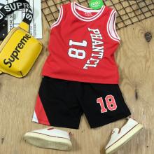 Bộ thun 18 phong cách thể thao mát mẻ cho bé trai BTN071 nhiều màu
