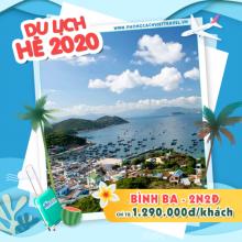 Tour Bình Ba 2 ngày 2 đêm HÈ 2020