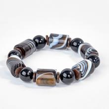 Vòng đá tự nhiên đốt tròn - Ngọc Quý Gemstones