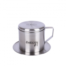 Phin café Sa Maison Energy, chất liệu inox 304