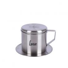 Phin café Sa Maison Love, chất liệu inox 304