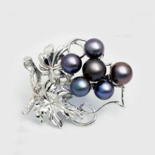 Cài áo ngọc trai Freshwater 8-9.5mm chất liệu bạc quý kim Sang trọng trẻ trung thanh lịch A1075S0F11B149006K000