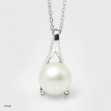 Mặt dây chuyền ngọc trai Freshwater 10-11mm chất liệu bạc quý kim Kiểu dáng đơn giản thanh lịch P5504B0F11W075001Z002