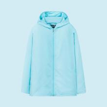 Áo khoác nữ The Cosmo NICOLE POCKETABLE JACKET màu xanh TC2004038LB