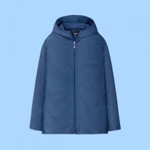 Áo khoác nữ The Cosmo NICOLE POCKETABLE JACKET màu xanh navy TC2004038NA