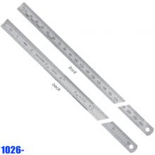 Thuớc lá inox 300 mm, bản thước 30x1.0mm, hướng đọc từ trái qua phải. Vogel Germany-1026430030