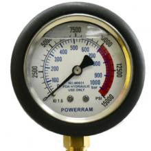 M0039 Đồng hồ áp suất 1000 bar, chân ren 1,4