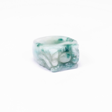 Nhẫn nam đá cẩm thạch phỉ thúy - Ngọc Quý Gemstones