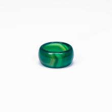 Nhẫn nam đá mã não xanh - Ngọc Quý Gemstones