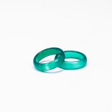Nhẫn nữ đá mã não xanh - Ngọc quý Gemstones