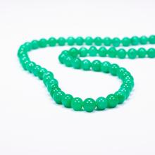 Chuỗi cổ đá cẩm thạch xanh lý - Ngọc Quý Gemstones