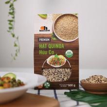 Hộp Mix Hạt Quinoa (Diêm mạch) 3 loại đỏ, đen, trắng Smile Nuts 500g - Mixed Quinoa Seed Smile Nuts 500g