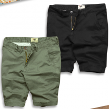 Combo 2 quần short nam kaki co giãn tốt cao cấp pigofashion (rêu, đen)