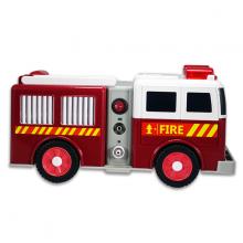 Máy xông khí dung Poly Baby SJ-001VF hình xe cứu hoả đa chức năng  - Bảo hành 2 năm