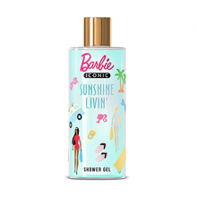 Sữa tắm cho bé Barbie Mùa Hè Rạng Rỡ BARBIE Iconic Sunshine Livin Shower Gel 300ml