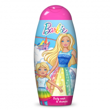 Sữa tắm gội 2in1 dành cho bé Xứ Sở Diệu Kỳ BARBIE Dreamtopia Body Wash and Shampoo 250ml