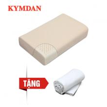 Gối cao su thiên nhiên Kymdan Pillow PressureFree Plus 60 x 38 x 10 cm - Tặng 1 áo gối
