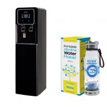 Combo Máy lọc nước Nano nóng lạnh Rewa RW-NA-816.BLACK + Máy tạo nước ION kiềm cầm tay RW-AK-1700