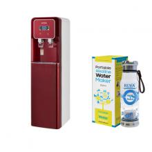 Combo Máy lọc nước Nano nóng lạnh Rewa RW-NA-816.WINE + Máy tạo nước ION kiềm cầm tay RW-AK-1700