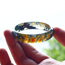 Vòng tay đá băng ngọc thủy tảo ni57 mẫu 2 - Ngọc Quý Gemstones