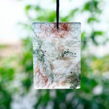 Mặt dây chuyền băng ngọc thủy tảo bản vuông 49x35mm - Ngọc Quý Gemstones