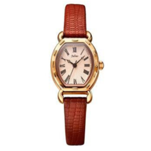 Đồng hồ nữ Julius Hàn Quốc JA-544 dây da nâu cafe