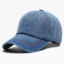 Nón kết, mũ lưỡi trai kaki jeans màu xanh NON256