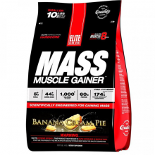 Sữa tăng cân Elite Labs Mass Muscle Gainer Banana 4.62kg