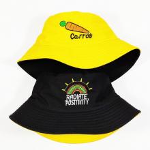 Nón, mũ bucket 2 mặt carot siêu xinh NON0422