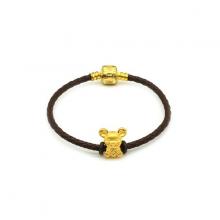 Vòng charm phong thủy kim tý ngân vàng 24K DOJI CB60054
