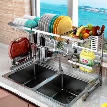 Kệ nhà bếp, giá đựng bát đĩa dao thớt đa năng khung inox 304 giúp không gian bếp gọn gàng