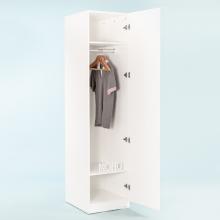 Tủ quần áo gỗ thanh treo MOHO VIENNA 201 trắng