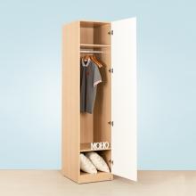 Tủ quần áo gỗ 2 màu thanh treo MOHO VIENNA 201
