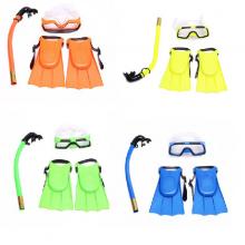 Dụng cụ lặn biển 3 món chân vịt, ống thở, kính lặn trẻ em