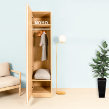 Tủ quần áo gỗ thanh treo MOHO VIENNA 201
