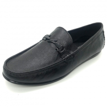 Giày mọi nam Lucacy, giày lười nam da thật trẻ trung bảo hành 12 tháng LC11D