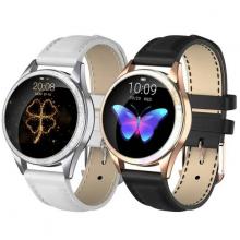 Đồng hồ thông minh Kingwear KW20 dây da - Chính hãng