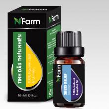 Tinh dầu thư giãn stress relief N'farm 10ml