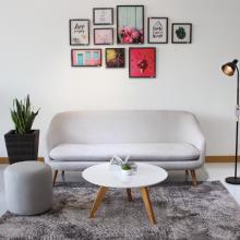 Sofa 3 chỗ bọc vải Furnist Orinoco