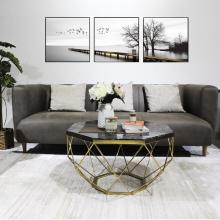 Ghế sofa 3 chỗ Furnist Flora