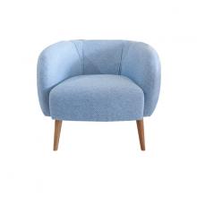 Ghế sofa đơn bọc vải Furnist Bora