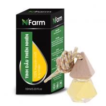 Tinh dầu gỗ sá xị treo xe hơi, tủ áo N'farm (10ml)