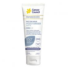 Kem chống nắng dành cho da mặt - Cancer Council  Face Day Wear Water Resistant SPF50+ PA++++ 75ml