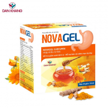 Gói uống hỗ trợ giảm acid dịch vị, bảo vệ niêm mạc dạ dày NOVAJEL (hộp 24 gói)