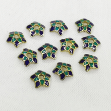 Combo 2 charm hoa xanh phối trang sức phụ kiện vòng tay nam nữ pk317