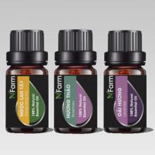 Bộ 3 tinh dầu hương hoa N'Farm ngọc lan tây(10ml), oải hương(10ml), hương thảo (10ml)