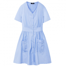 Đầm nữ The Cosmo IVY DRESS màu xanh nhạt TC2005236LB