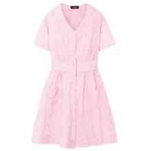 Đầm nữ The Cosmo IVY DRESS màu hồng nhạt TC2005236PI